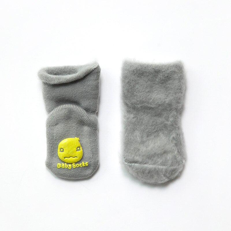 PPXX New Winter Thick Children Baby Cartoon Socks Infant Girl Cotton Soft Warm Antislip New Born Baby Socks Fur Gift 6