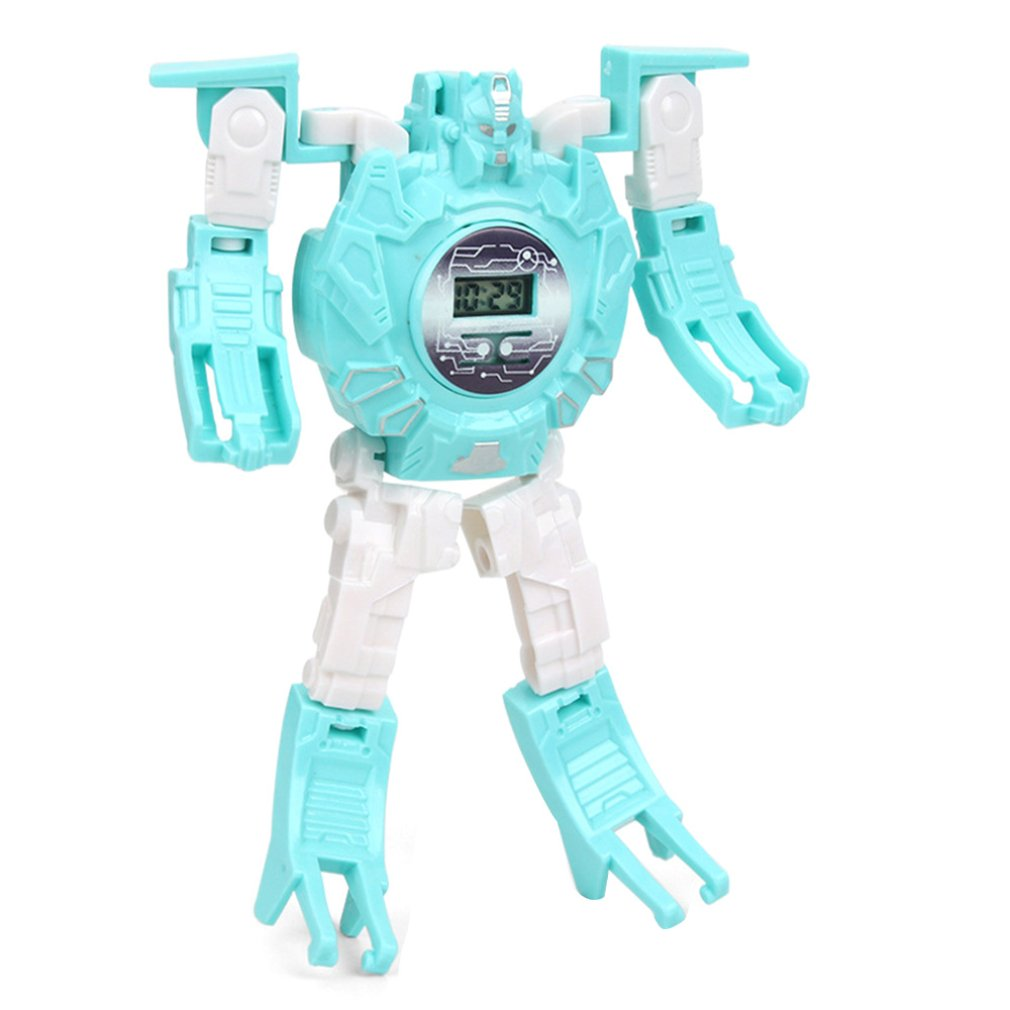 Deformed Electronic Watch Toys Girls Boys Birthday Gifts Creative Parent-child Interaction Creative Toy