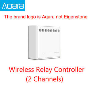 Aqara Control-Module Home-Kit 2-Channels Wireless Two-Way Mijia for APP And Work Original