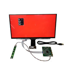 15.6 inç LCD ekran kapasitif dokunmatik modülü kiti 1920x1080 IPS 2mini HDMI LCD modülü ahududu Pi oyun XBox PS4 ekran