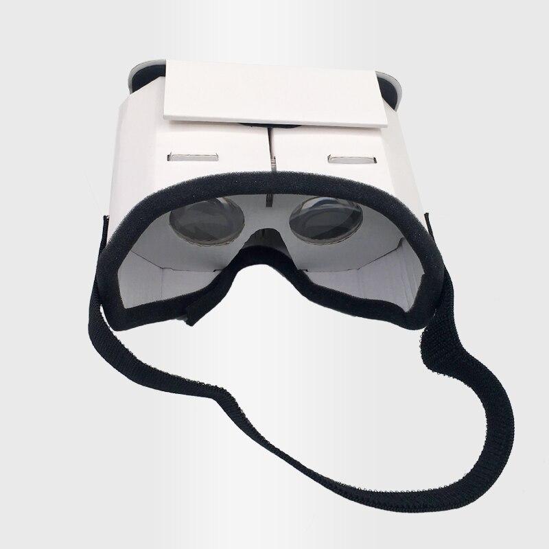 DIY Portable Virtual Reality Glasses Google Cardboard 3D Glasses VR Glasses For SmartPhones For Iphone X 7 8 VR