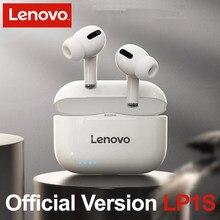 Lenovo – écouteurs sans fil LP1S TWS bluetooth 5.0, oreillettes stéréo, musique HiFi, avec micro, pour Android et IOS PK Airpods Pro