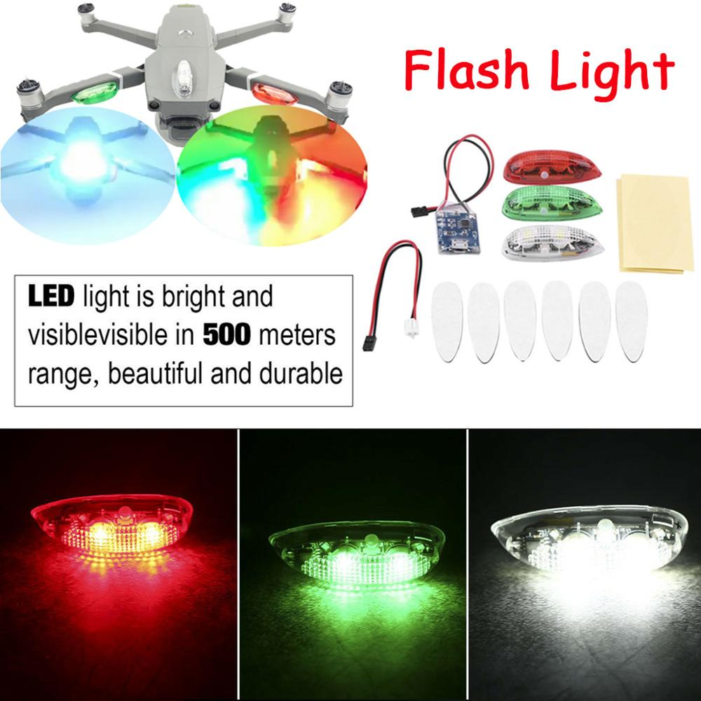 Night Flashing Strong Bright Wireless LED Lights Long Distance Lamp For DJI Mavic Mini Air 2 Pro Spark Phantom 3 4 Inspire Drone