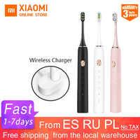 Xiaomi Mijia зубная щетка Soocare X3 X3s Soocas обновленная электрическая звуковая умная Bluetooth Водонепроницаемая беспроводная зарядка Mi Home APP