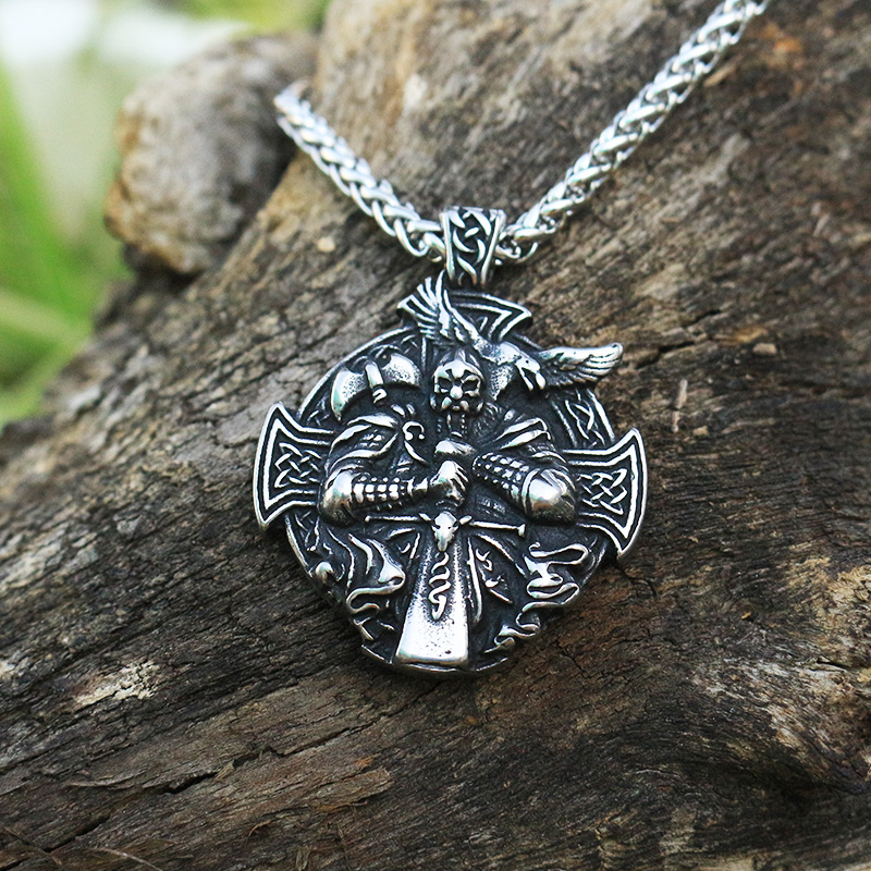 Vikings Odin Necklace Pendant
