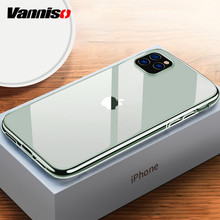 Vanniso Original Transparent Case For iPhone 11 Pro Max Soft Silicone 7 8 Plus XR XS X Ultra Thin