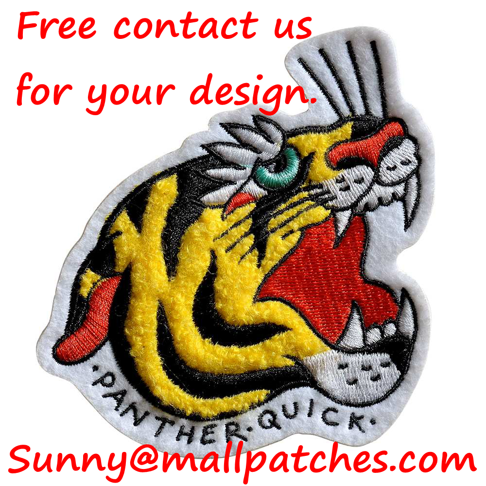 Custom Chenille Patches Letters Patches For Hoodie Name Chenille Patches Embroidery Patches Cute Patches Animal Patches