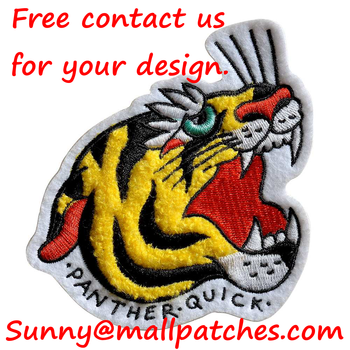Custom Chenille Patches Letters patches For Hoodie Name Chenille Patches Embroidery Patches Cute Patches Animal Patches фото