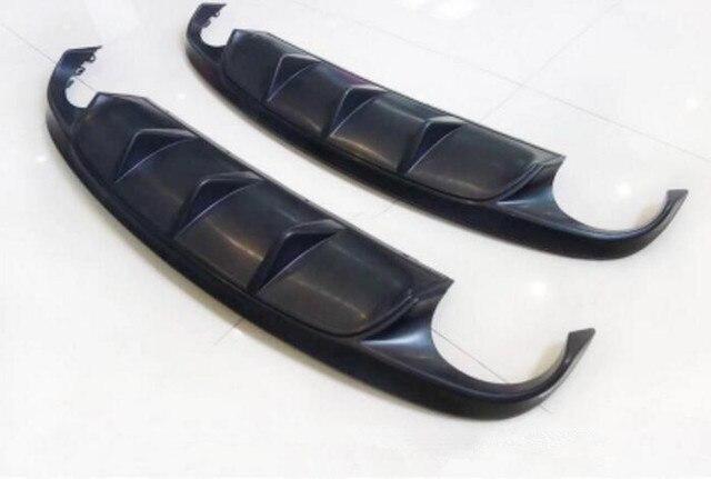 XFR-S estilo ABS negro Primer coche parachoques trasero labio Auto difusor se adapta para Jaguar XF 2012, 2013, 2014, 2015