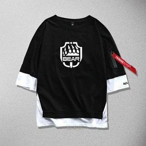 Nowa ucieczka z Tarkov cosplay T-Shirt gra luminous bawełna mężczyźni kobiety wstążka T Shirt koszulki