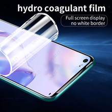 soft full cover hydrogel film for huawei P20 lite P30 P40 pro plus phone screen protector P40 lite E protective film Not Glass