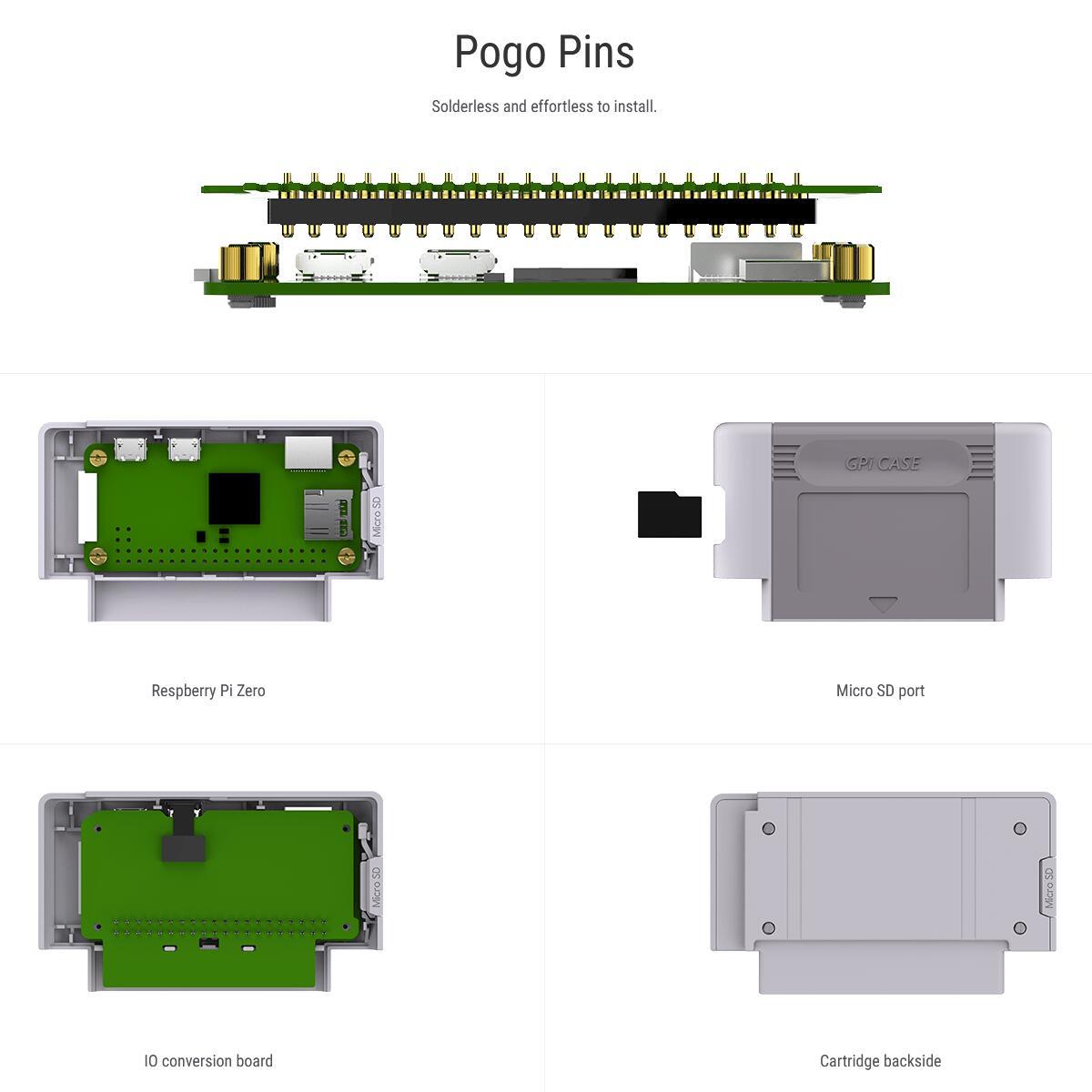 cheapest Raspberry Pi Zero Handheld Game Console GPi Case Safe Shutdown 128GB 14000  Games Customized ES Retropie Emulation Game Station