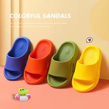 Klapki dziecięce letnie klapki kapcie dziecięce buty na plażę dla chłopców dziewczęta wodoodporne przeciwpoślizgowe łazienka dziecięce buty bucik dziecięcy tanie tanio Damsko-męskie 25-36m 4-6y 25cm 26cm 27cm CN (pochodzenie) CZTERY PORY ROKU Dobrze pasuje do rozmiaru wybierz swój normalny rozmiar