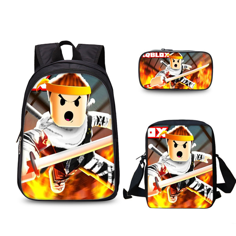 3 Set Kids Popular Game Backpack New School Bags For Teenagers Boys And Girls Kids School Backpack Mochila Mujer