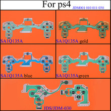 YuXi JDM 001 010 011 030 040 JDS 055 Button Ribbon Circuit Board Film for PS4 Controller For Dualshock 4 PS4 Pro Slim(China)