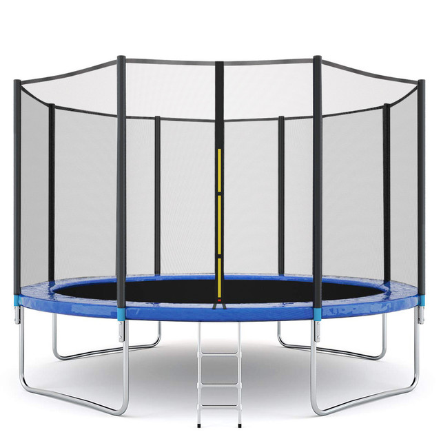 12 FT Trampoline With Large Safety  2