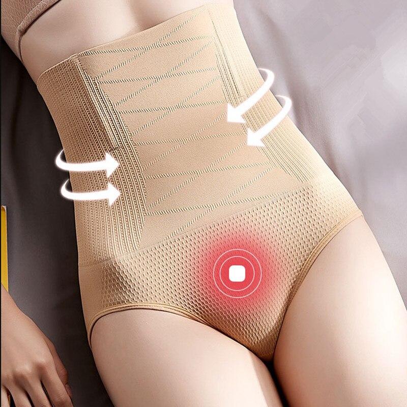 Women Tummy Control Panty Slimming Waist Body Shaper Briefs High Waist Underwear Women's Panties Plus size XS-3XL