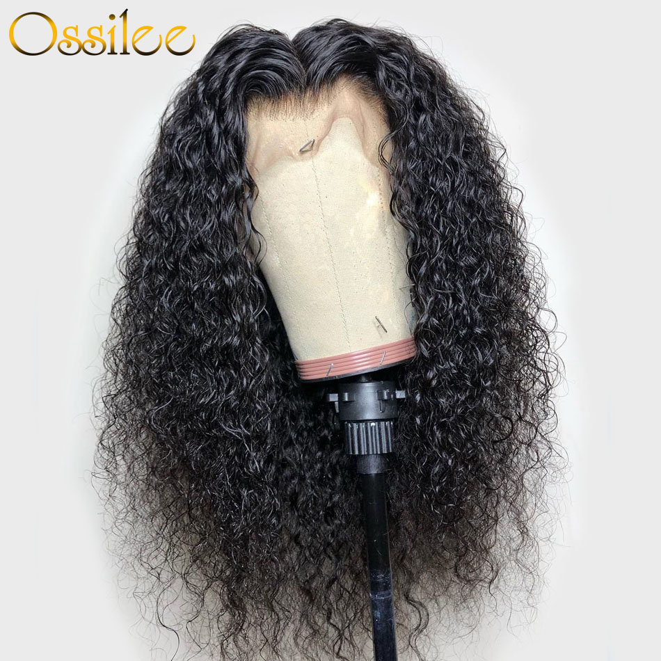 Jerry Curly Human Hair Wig 360 Lace Frontal Wig Human Hair Wigs Ossilee Remy Hair