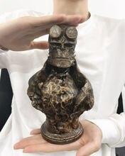 Statue de personnages du film Anung Un Rama, 22cm, en résine, Collection de personnages de la bande dessinée hallboy, modèle jouet posé sur table ou dans la voiture