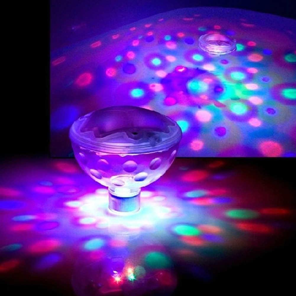 4LED Light Underwater Glow Swimming Pond Pool Spa Tub Waterproof Floating Lamp Disco Aquarium Glow Light Bath Light Toy for Kids Swimming Underwater Light Show 1PCS
