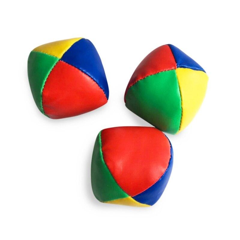 3pcs Kid Throwing Sandbags Toys Juggling Balls Set Classic Bean Bag Juggle Magic Circus Beginner Children Outdoor Sport Toy