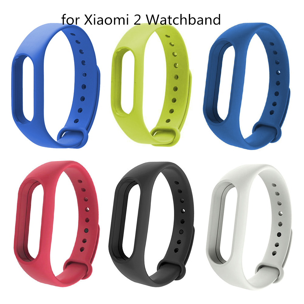 For Mi Band 2 Strap Bracelet Accessorie Pulseira Miband 2 Replacement Silicone Wriststrap Smart Wrist For Xiaomi Mi Band 2 Strap