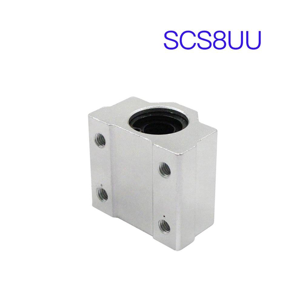 SCS6UU SCS8UU SCS10UU SCS12UU Linear Ball Bearing Block CNC Router For CNC 3D Printer Shafts Rod Parts