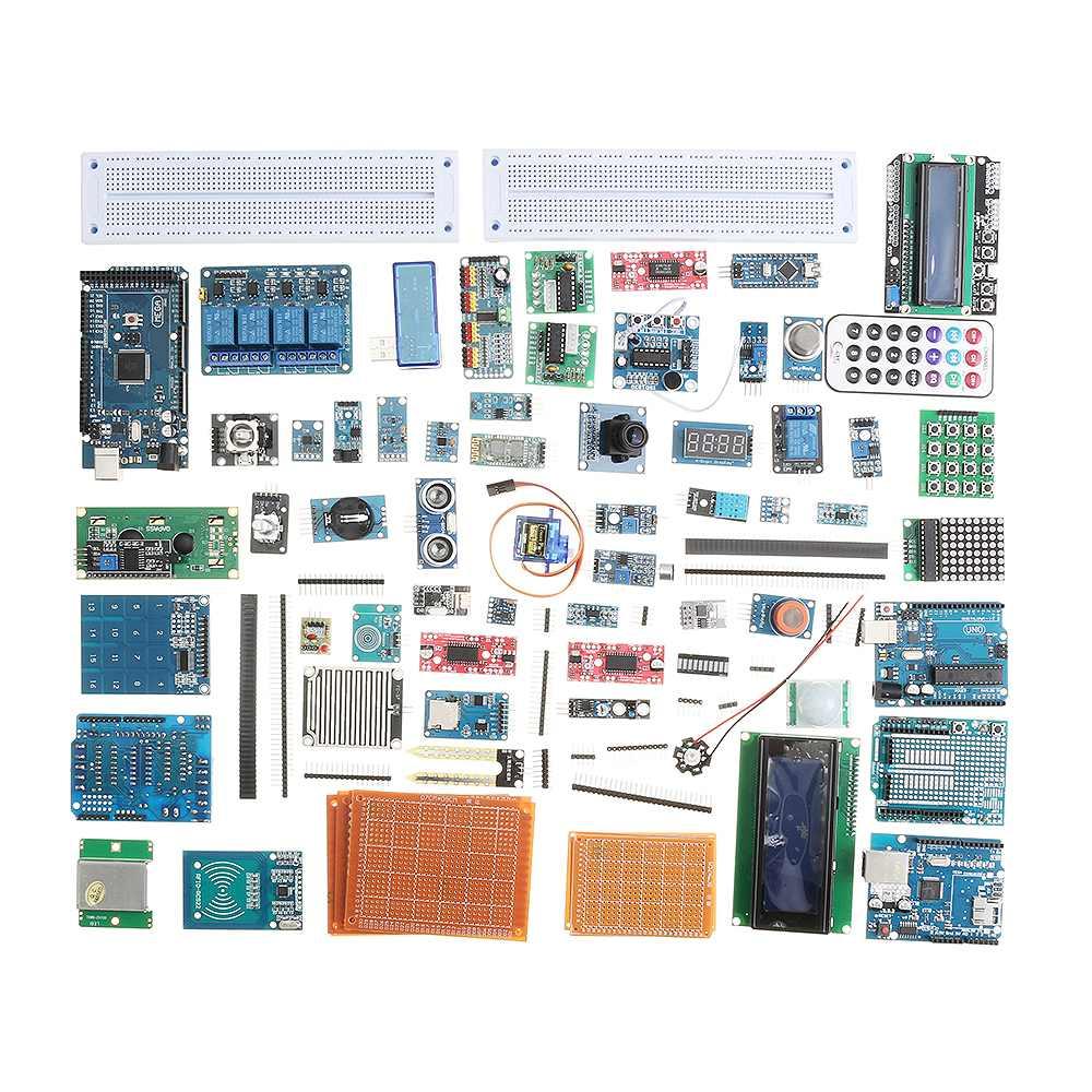 LEORY EU Plug Mega Nano реле датчика bluetooth Wifi lcd начинающих стартовый набор для Arduino без батареи версия