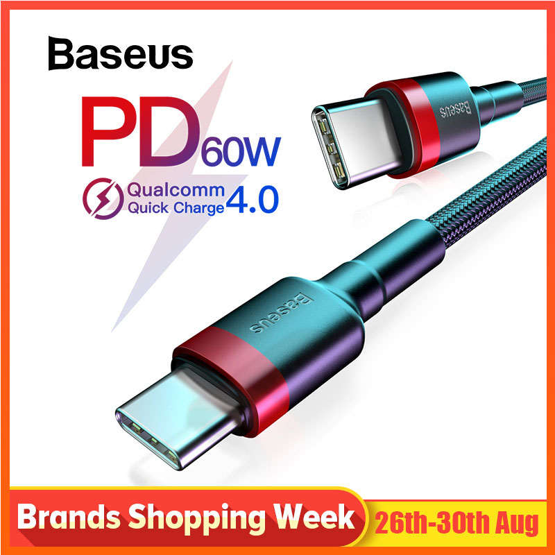 Baseus Type-C-Cable K20-Note Usb-C-Wire Quick-Charge Redmi For Samsung K20-note/7-pro/Quick-charge/..