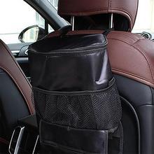 Multifunctional รถกระเป๋าเก็บความร้อนฉนวนกันความร้อนเก็บ Cool Back Storage ถุงน้ำแข็งสำหรับรถยนต์