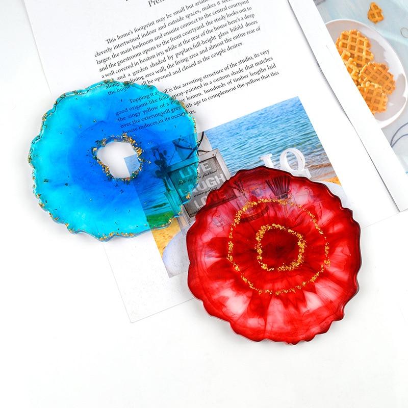 Crystal Resin Coaster DIY