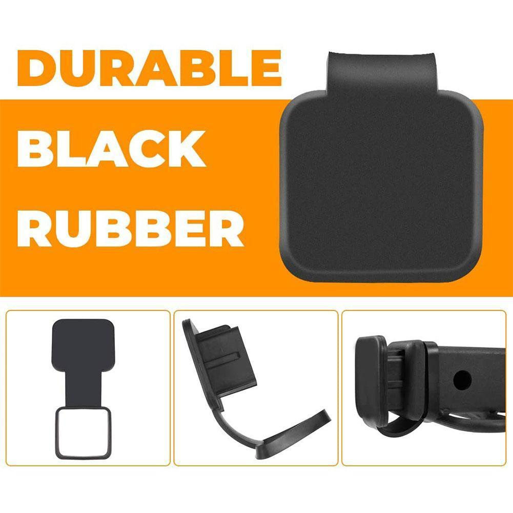 2 Inch Trailer Hitch Cover Plug Cap Rubber Fits 2 Inch 3 4 Ram Class 5 Trailer Nissan For Toyota Jeep Receiv S4L5