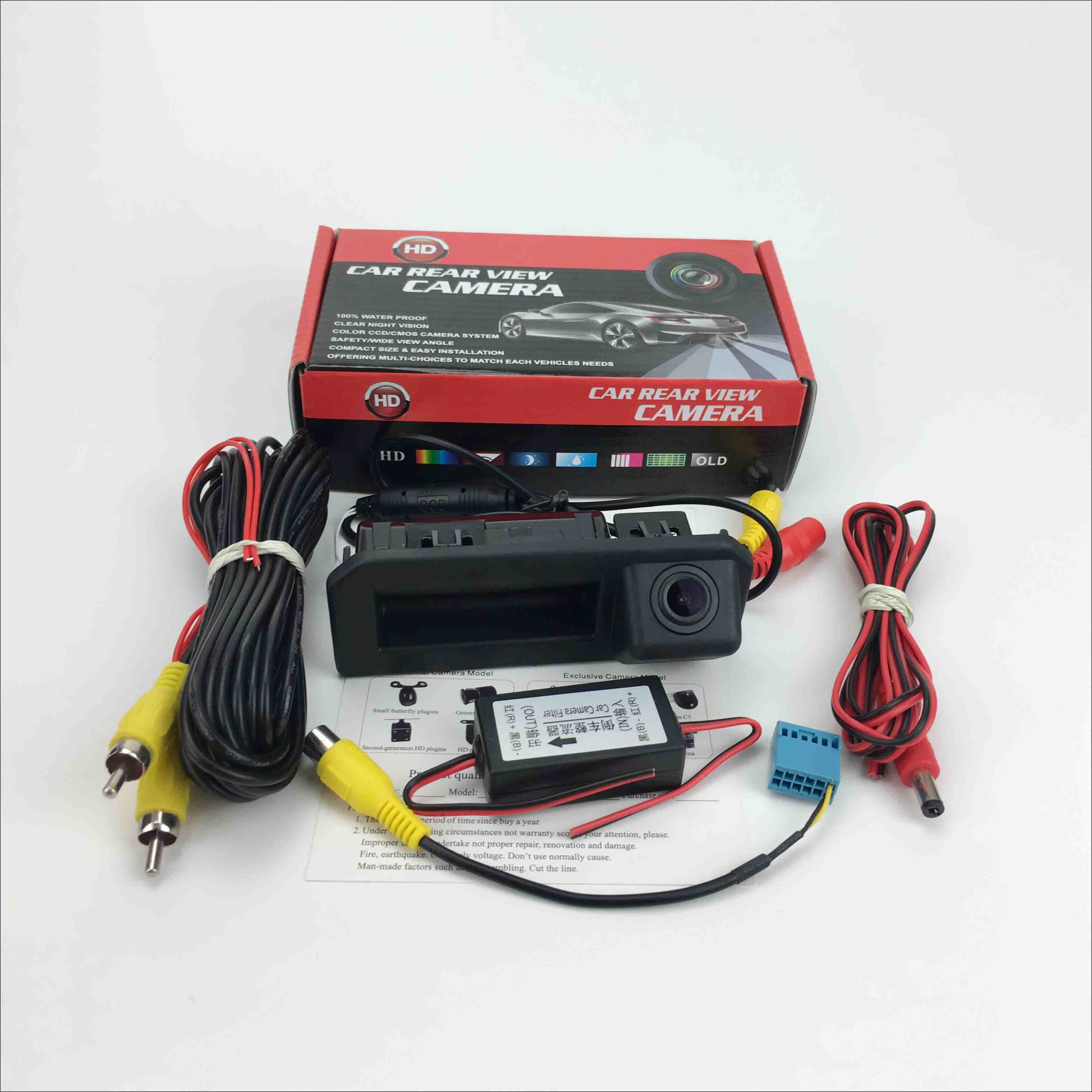 lowest price Rear View Camera For Skoda Rapid FL 2016 2017 2018 2019 Instead of Original Factory Trunk Handle Camera Reverse camera CCD HD