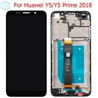 Pantalla LCD Y5 Pro 2018 para Huawei Y5 2018 con Marco, pantalla táctil de 5,45