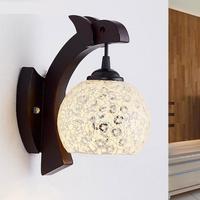 Industrial arandela  loft retro lâmpada de parede do vintage luminárias com abajur vidro lamparas pared