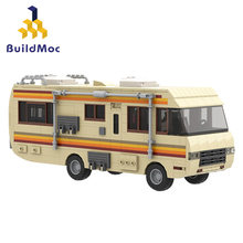 MOC Series Movie Breaking-Bads Simulation Truck Bus Car Collection Model Building Blocks Diy Bricks Christmas Gift For Child