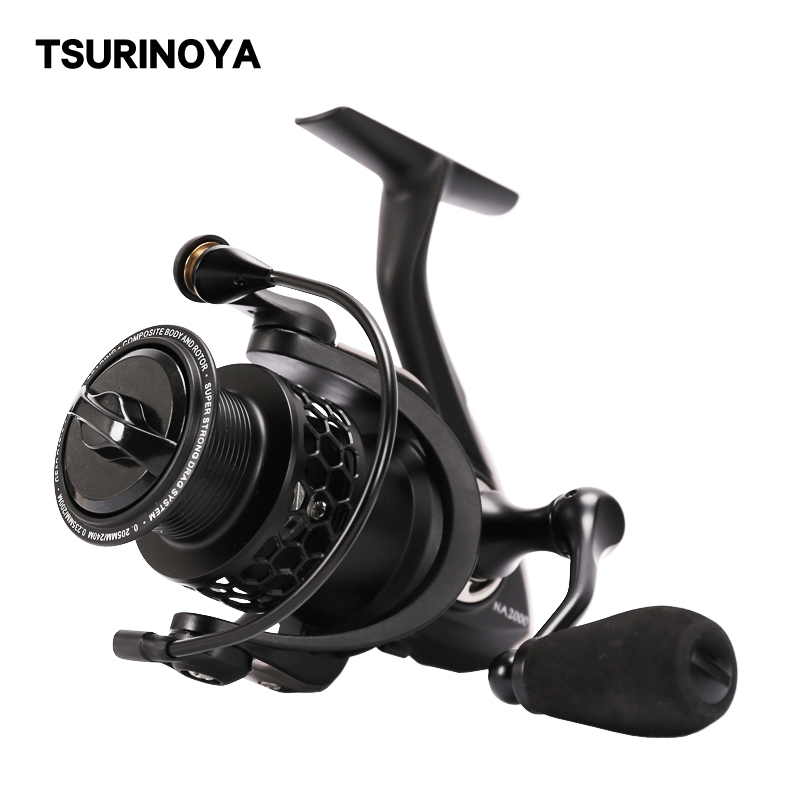 Tsurinoya NA 2000 3000 słonowodne Spinning Fishing Reel 9BB 5.2 1 aluminiowa szpula Carp Fishing Lure Coil