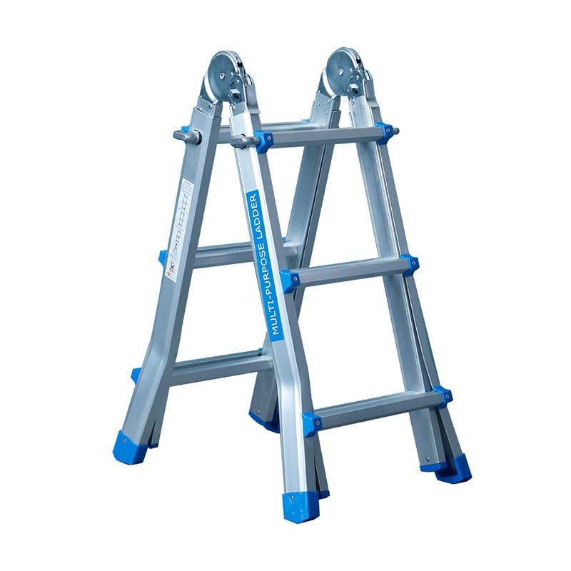 Little Giant Folding Ladder Trestle Ladder Aluminium Alloy Pull Portable Folding Ladder Multi-functional Lift