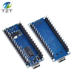 Image 5 - ננו מיני USB עם מנהל האתחול תואם לarduino Nano 3.0 בקר CH340 USB נהג 16Mhz ננו v3.0 ATMEGA328P