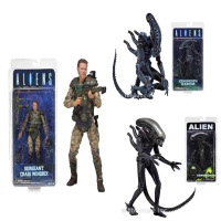 Aliens vs Predator Sergeant Craig Windrix Xenomorph Warrior Action Figure CollectionToy Doll