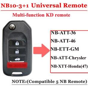 Image 4 - Mando a distancia multifuncional NB10, serie NB, 3 + 1 botón, maestro remoto KD900 URG200, envío gratis (5cs/lote)