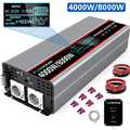Инвертор с чистым синусом Мощность 2000 Вт Инвертор с зарядным устройством 3000W 4000W 5000W 8000W DC 12V/24/48V Напряжение трансформатор AC/DC 12V к переменному ...