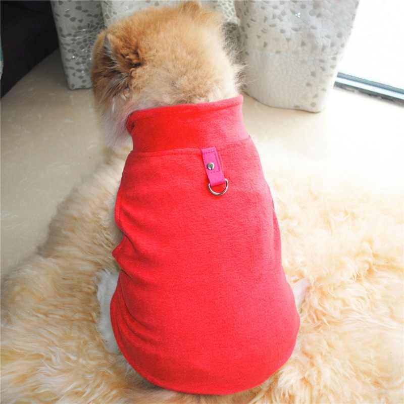 Hond Winter Vest Pluche Kleding Warme Jas Winddicht Jas voor Chihuahua Honden Puppy Groothandel Huisdier Kleding