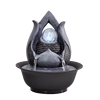 Resin Decorative Fountains Indoor Water Fountains Creative Craft Desktop Home Decor Home Figurines FengShui Water Fountain G 5