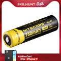 送料無料の卸売 NITECORE NL147/NL1485 高性能 850 2600mah のリチウムイオン Rechargerable 14500 バッテリー絶頂ドレインデバイス