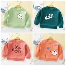 Hoodie Kids Sweatshirt Blouse Long-Sleeve Toddler Girls Baby-Boy Spring Cotton Top Autumn