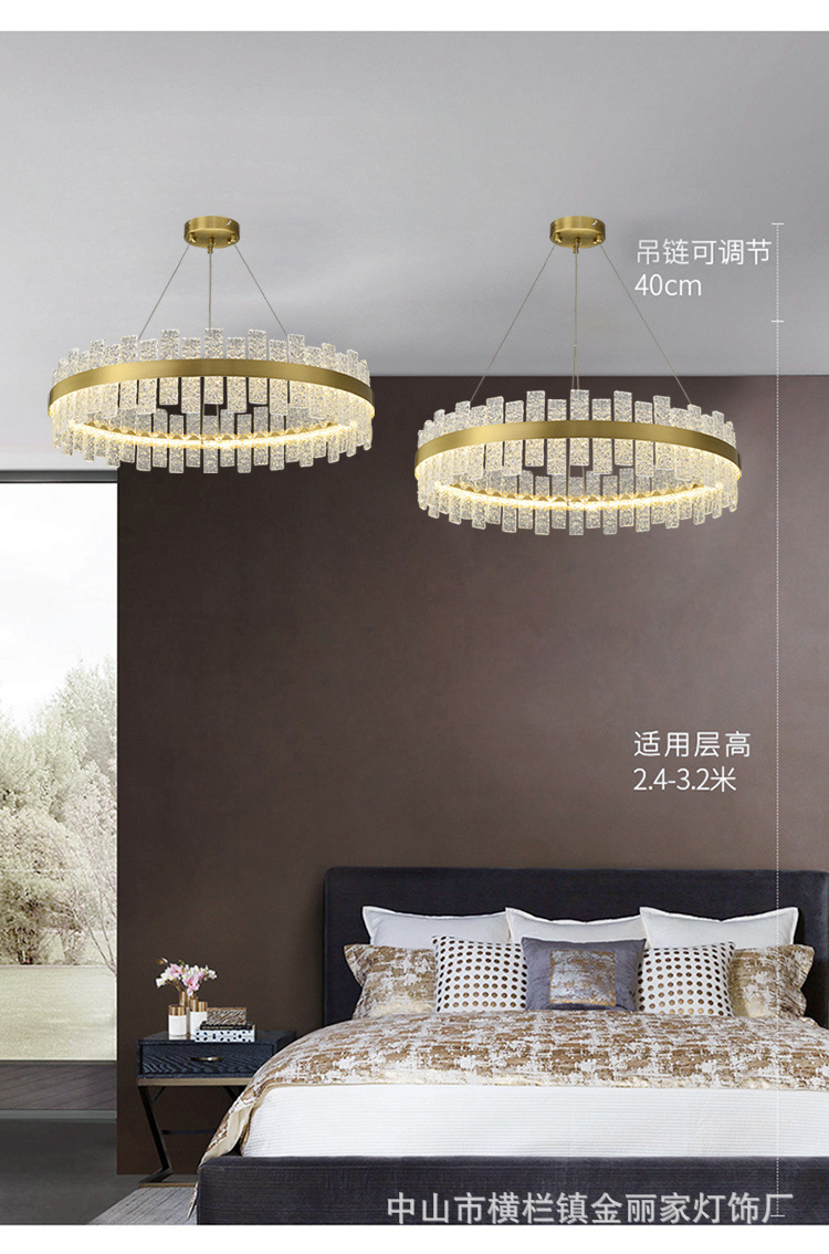 novo lustre para sala de estar, lâmpada