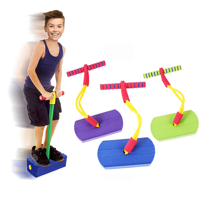 Pogo Stick Jumping Shoes Stilts Fitness Gymnastics Trampoline Outdoors Toys For Kids Children Sport Activity Sensory Play