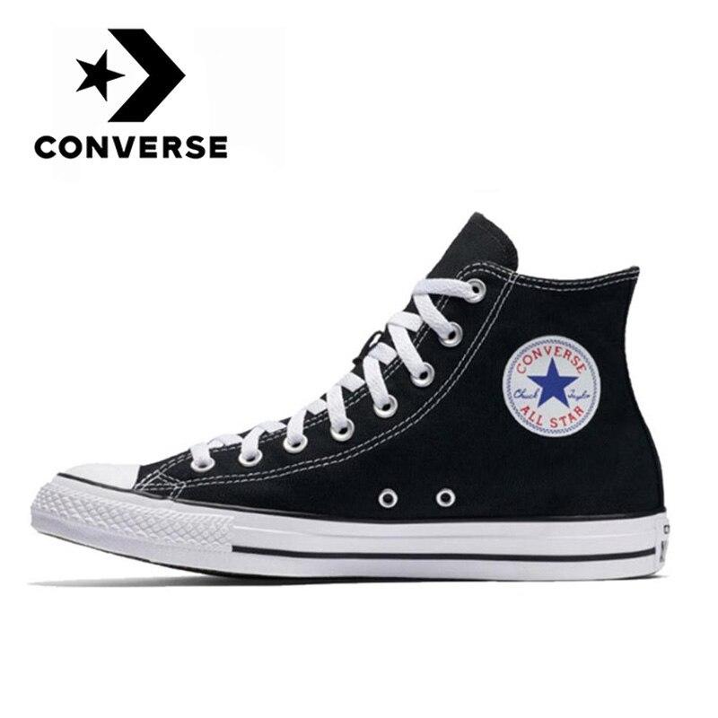 Кеды Converse Chuck Taylor All Star Core унисекс, классические кроссовки для скейтборда, повседневная черная обувь из парусины, оригинал|Катание на скейтборде| | АлиЭкспресс