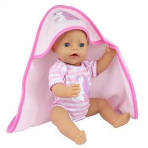 Новое одеяло Кукла Одежда Reborn для ребенка подходит 17 дюймов 43 см кукла аксессуары для ребенка праздничный подарок